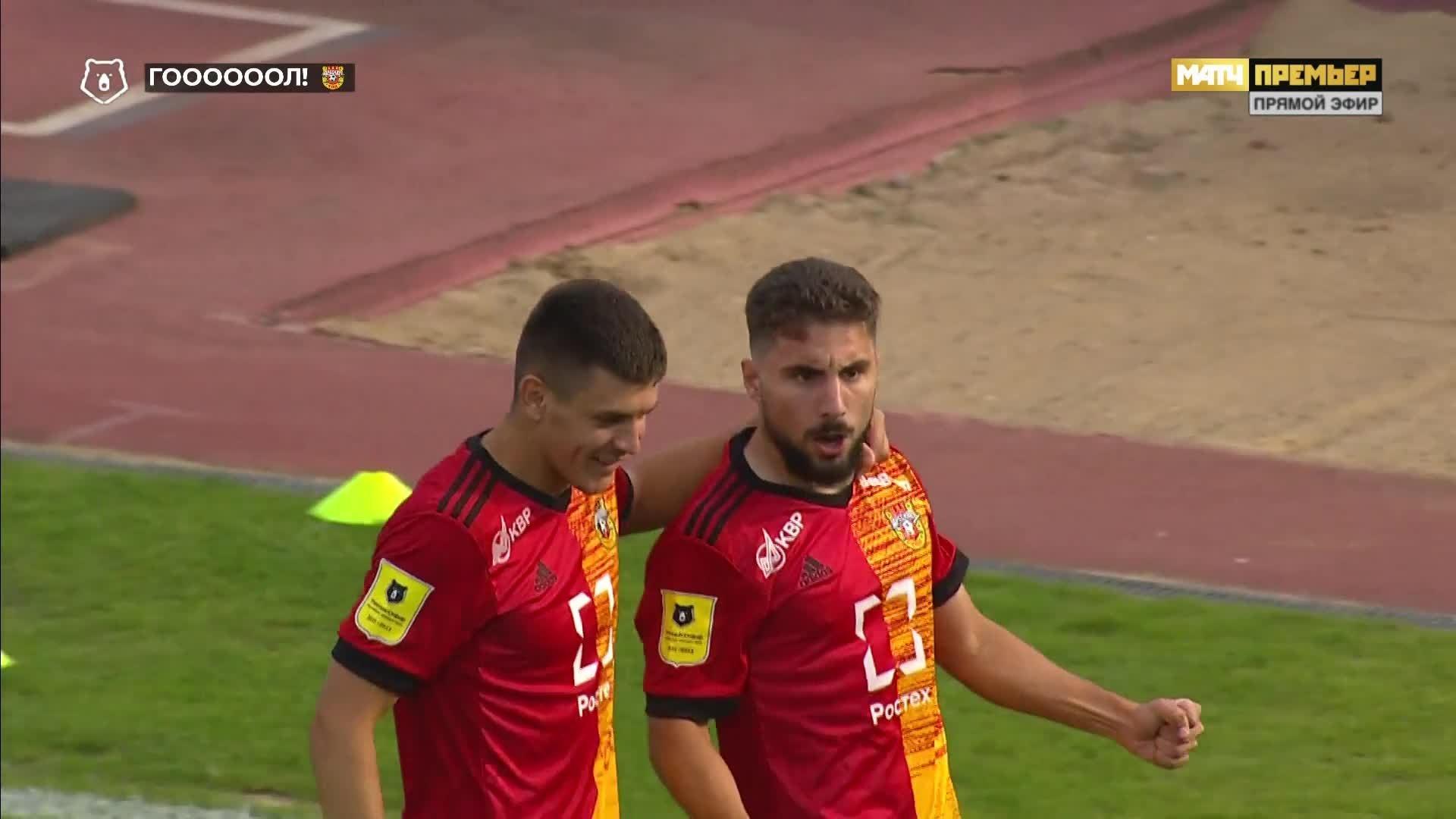 Арсенал - Крылья Советов. 1:0. Зурико Давиташвили