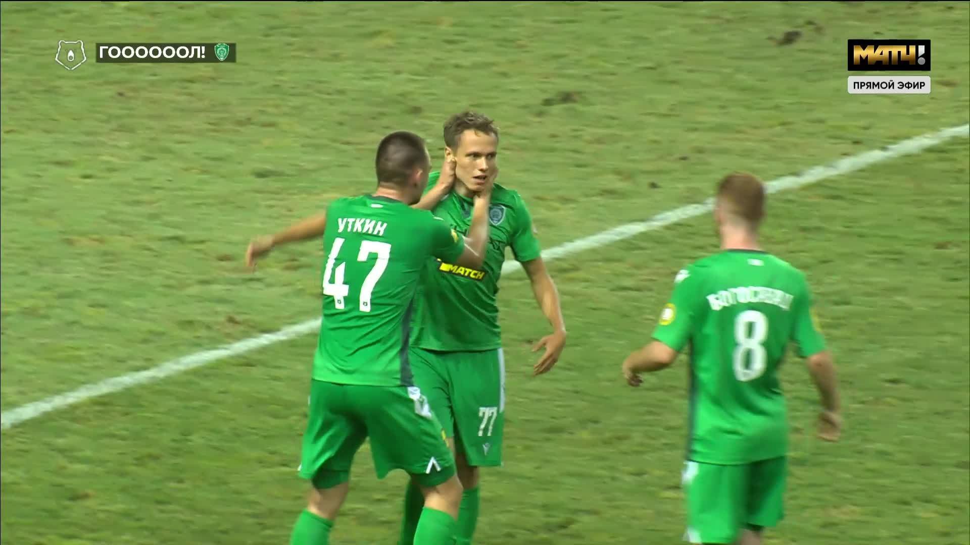 Ахмат - Динамо. 2:0. Владислав Карапузов