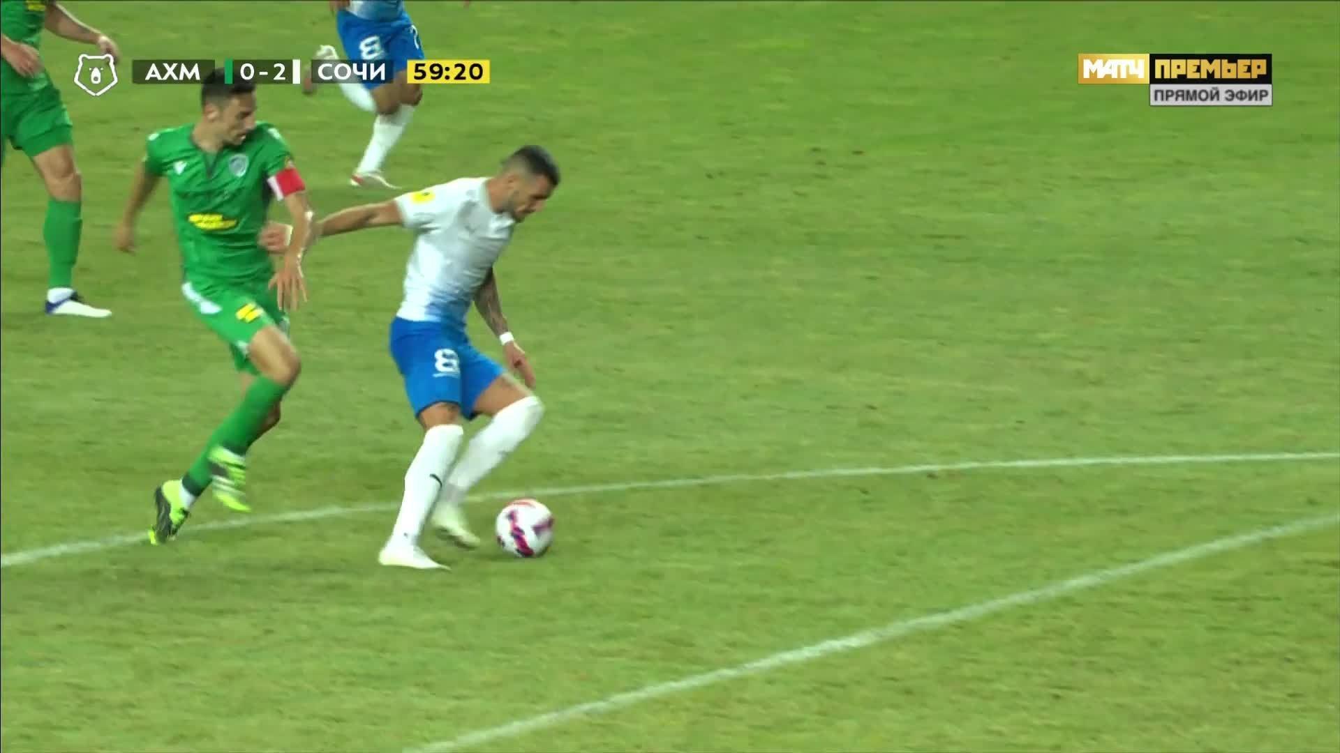 Ахмат - Сочи. 0:2. Марко Дуганджич