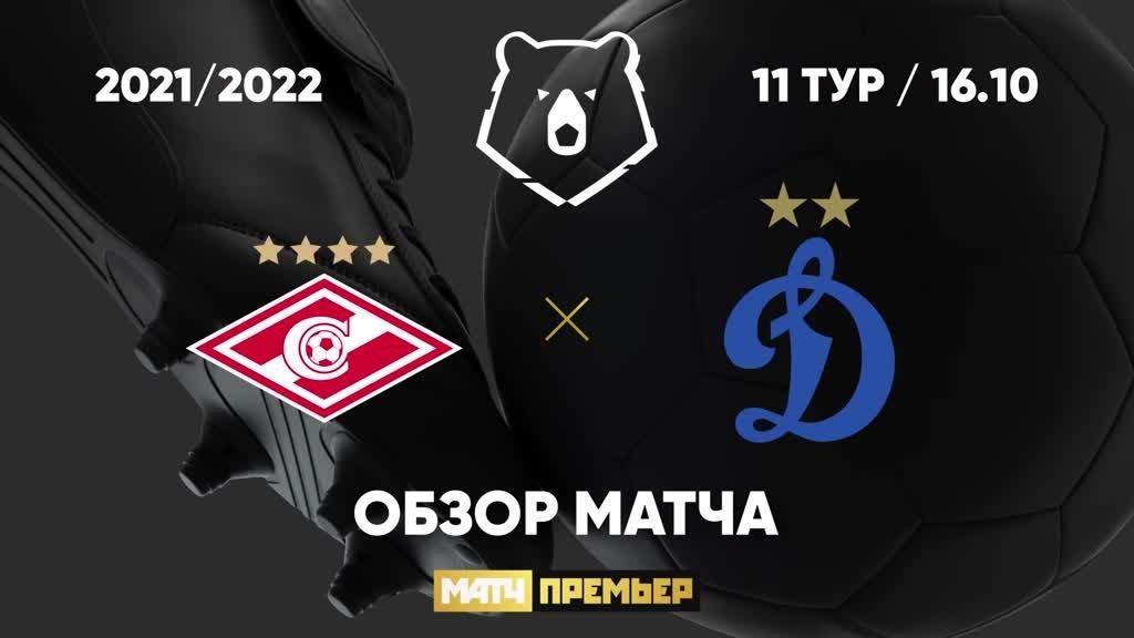 Спартак - Динамо - 2:2. Голы и лучшие моменты